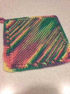 Grandmother's Favorite Dishcloth - Knitting