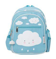 blauwe #rugzak wolk #backpack #school