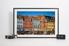 Copenhagen most famous street by Nyhavn channel by Anovva on Etsy