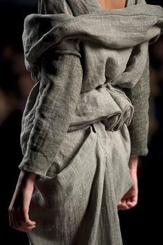 Du lin fin et doux pour faire une veste....ouaip.
