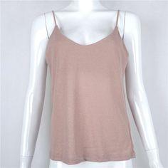 Cotton Camisole Spaghetti Strap Tank Top-Shirt-Look Love Lust,  https://www.looklovelust.com/products/cotton-camisole-spaghetti-strap-tank-top