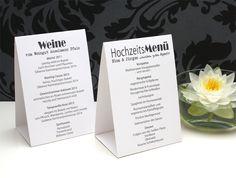 Menükarte+Hochzeit+Aufsteller+von+[ze│ka!]+auf+DaWanda.com