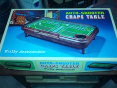Auto Shooter Craps Table Fully Automatic.Like New by FriendsRetro, $69.00
