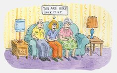 Roz Chast: Cartoon Memoirs -at the Norman Rockwell Museum