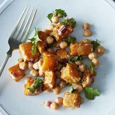Moro's Warm Squash & Chickpea Salad with Tahini Recipe on Food52 recipe on Food52