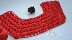 Coquette for top Baby Knitting, Crochet Top, Shawl, Crochet Patterns, Crochet Tutorials, Crochet Necklace, Handmade, Accessories, Clothes