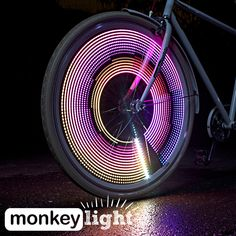 M232 bicycle wheel light.  Light up your wheel!