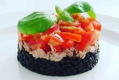 Černá čočka s tuňákem Sushi, Healthy, Ethnic Recipes, Food, Essen, Meals, Health, Yemek, Eten