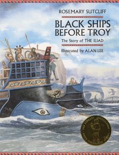 Black Ships Before Troy: The Story of The Iliad [Hardcover] [2005] (Author) Rosemary Sutcliffe, Alan Lee null http://www.amazon.com/dp/B00FF0KVD6/ref=cm_sw_r_pi_dp_eHk.tb1TBPKJY