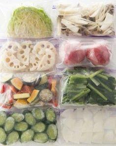 下ゆでは…必要なし?勘違い多数「野菜の冷凍保存」新事実が続々