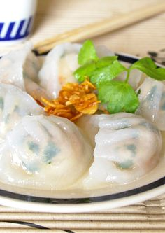 My Kitchen: Chive Dumplings (韭菜饺)