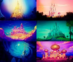 the disney castles