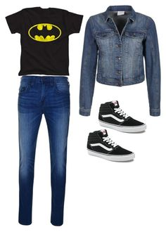 """""""Daily outfits"""" by lgtorr on Polyvore featuring True Religion, Vero Moda and Vans"""