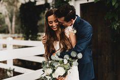Romantic Kristin And Marcus John Wedding 8