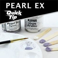 This is EXCELLENT!!! EVERYTHING YOU EVER WANTED TO KNOW ABOUT Pearl Ex . Stamping, embossing, painting , etc. FULL INFORMATIONAL TEACHING -- DO NOT MISS THIS! AND Quick Tips.