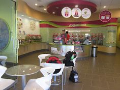 Work in or own a frozen yogurt shop... they always have cool chairs
