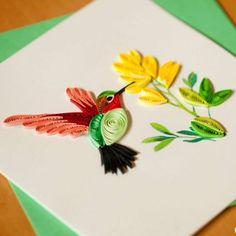 Handmade Quilling Card  found on InnerCircleDirect.com