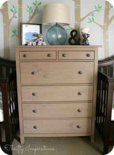 hemnes commode 3 tiroirs gris brun ikea am nagement int rieur pinterest hemnes. Black Bedroom Furniture Sets. Home Design Ideas