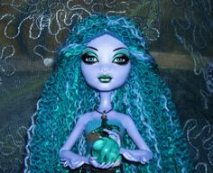 a changed photo of my seamonster doll