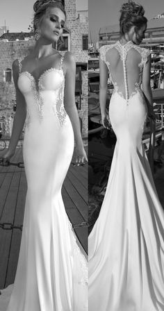 Beautiful Galia Lahav bride