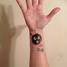 soot sprite _spirited away_ I really want a soot sprite somewhere not too obvious