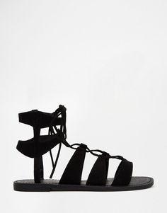 Image 2 - New Look - #Sandales plates à lacets
