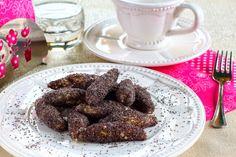 Mákos nudli (paleo) Healthy Recipes, Healthy Foods, Almond, Cookies, Chocolate, Breakfast, Health Foods, Breakfast Cafe, Biscuits