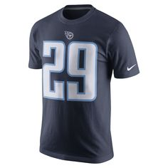 730e8865d Nike Player Pride Name and Number (NFL Titans   DeMarco Murray) Men s T- Shirt Size Medium (Blue) - Clearance Sale