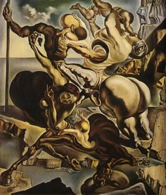 Family of Marsupial Centaurs, 1940 by Salvador Dali