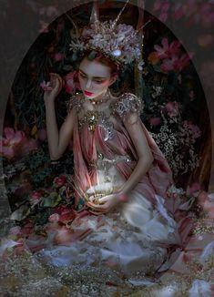 Otherworldly Imagery fromLillian Liu Photography Young Model Presley McCargar (@presleymccargar on IG) in our Rose Armor Gown - Crown -MyWitchery Makeup - @isamua667788 (on IG) Hair -&n...