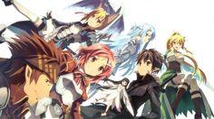 Klein Lisbeat Yui Silica Kirito Asuna Leafa Alfheim Online Sword Art Online 2 Vurdalak84 1920x1200