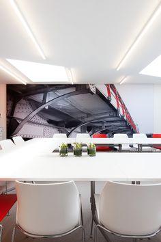 MEET @ 51 BRUGGE #meetingroom('s) #office #DARK #Prolicht #VanBiervliet #concept #project Brugge BE