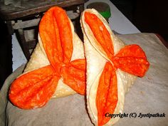 Chimti - (चिम्टी) - flower shaped flaky bread especially made during Dashai, Tihar-Bhai-Tika, and other religious festivals.