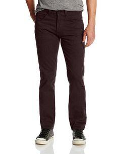 Levi's Men's 511 Slim Fit Line 8 Twill Pant, Rum Melange, 34x32
