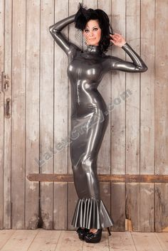 Latex Hobble Dress by Latexcrazy Flickr Photo