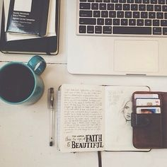 Creative work Space yes please :)))))))) Bujo Inspiration, Portrait Inspiration, Web Design, Type Design, Coffee Staining, Tumblr Photography, Hipster Photography, Study Motivation, Inspire Me