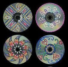 Resultado de imagem para como fazer decoracao com cds