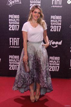 Monique Alfradique no Prêmio Multishow, realizado no Rio de Janeiro nesta terça-feira, 24 de outubro de 2017