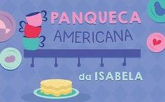 Panqueca Americana da Isabela Bella Pizza, Detox, Family Guy, Crepes, Sweet Like Candy, Sweet Pastries, Box Lunches, Illustrated Recipe, Party Candy