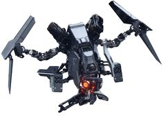 Helghast Sentry Drone  - Killzone shadow fall (Guerrilla Games