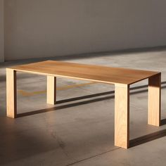 Shop the Radii Table Oak Table, Solid Wood Dining Table, Table And Chairs, Dining Bench, Tables, Polished Concrete Flooring, Kitchen Dinning Room, Decoration Design, Furniture