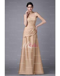 Taffeta Ruffles Formal Dress