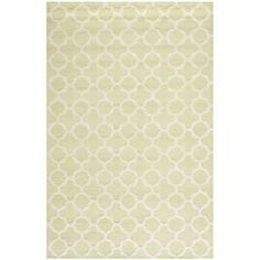 Varick Gallery Martins Light Green / Ivory Area Rug Rug Size: 3' x 5'