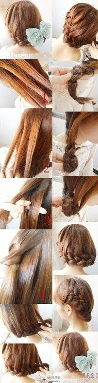 ~ DIY Side Hairstyle ~