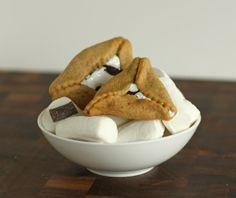 S'mores Hamantaschen Cookies