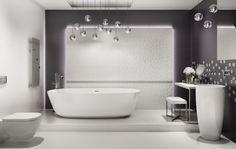 Esten Paradyż Tiles, Bathtub, Ceramics, Interior Design, Bathroom, Products, Room Tiles, Standing Bath, Ceramica