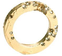 ring N°3, section carrée, or jaune - AMBROISE DEGENÈVE-FR