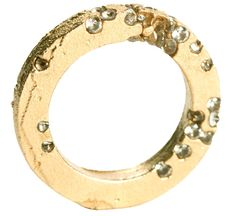 #Ring N°3, section carrée, or jaune - AMBROISE DEGENÈVE-FR ~ Loved by www.danykacollection.com ~