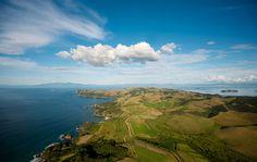 Man O' War winery on Waiheke Island, NZ