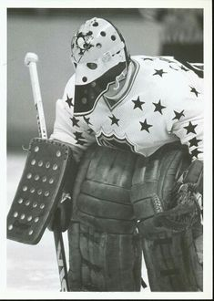Michel Dion Hockey Goalie, Hockey Teams, Nhl, Hockey Rules, Goalie Mask, Pittsburgh Penguins Hockey, Cool Masks, Masked Man, Vancouver Canucks